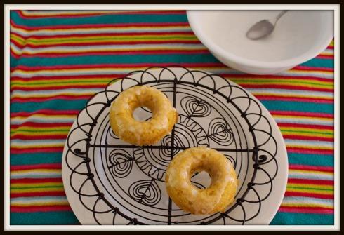 Caramel baked doughnuts... The Hungry Mum
