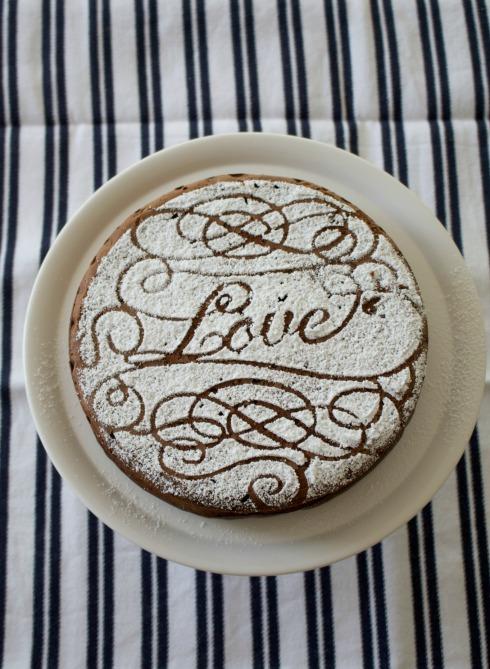 mocha dessert cake - a rich after dinner dessert recipe.