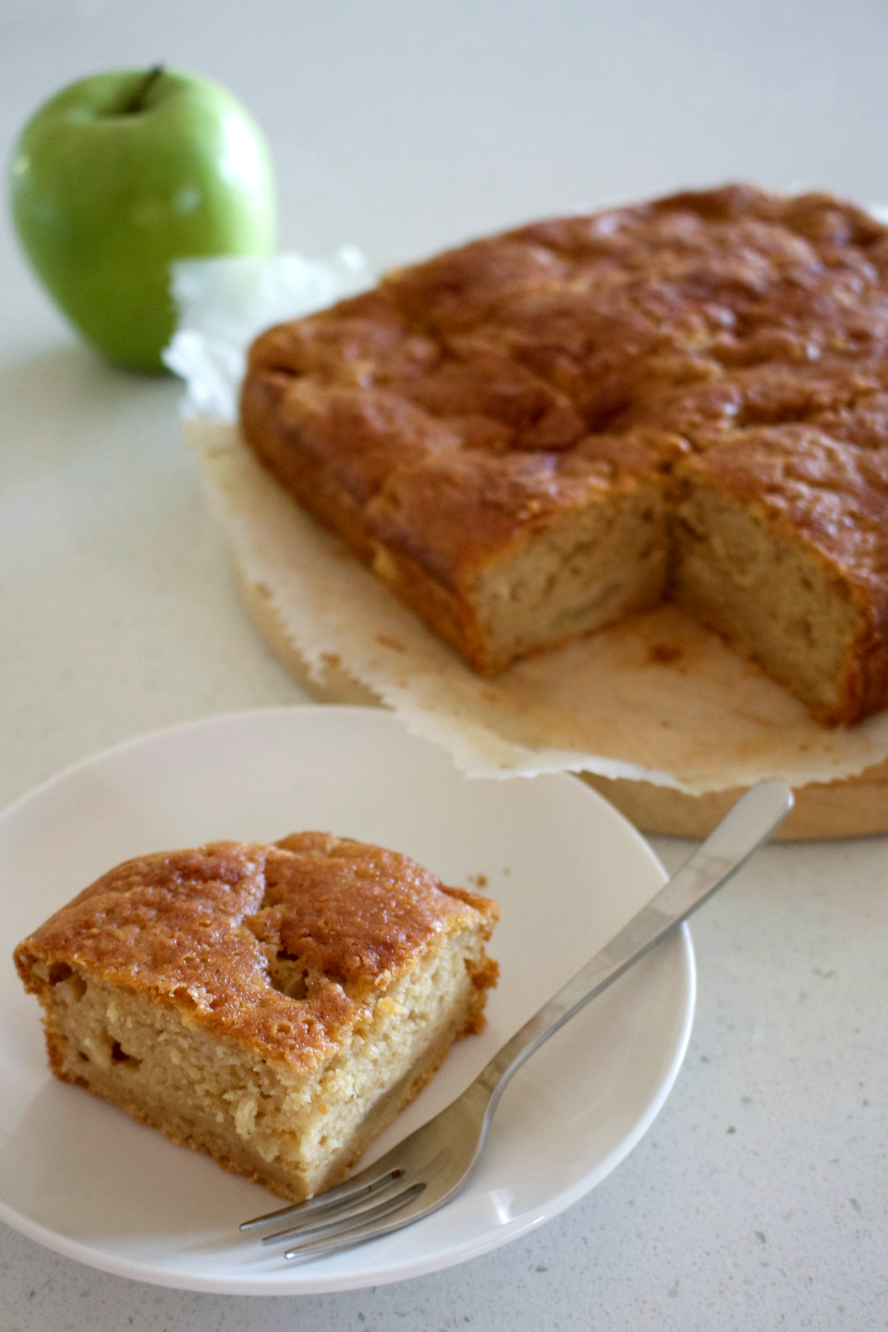 Gluten Free Apple Cinnamon Tea Cake