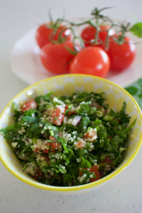 easy tabouli salad - perfect for a picnic. The Hungry Mum