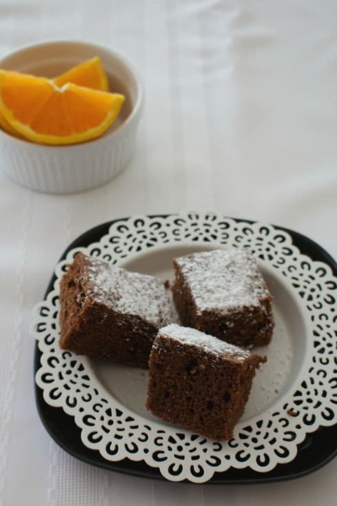 Grand Marnier dark chocolate brownies