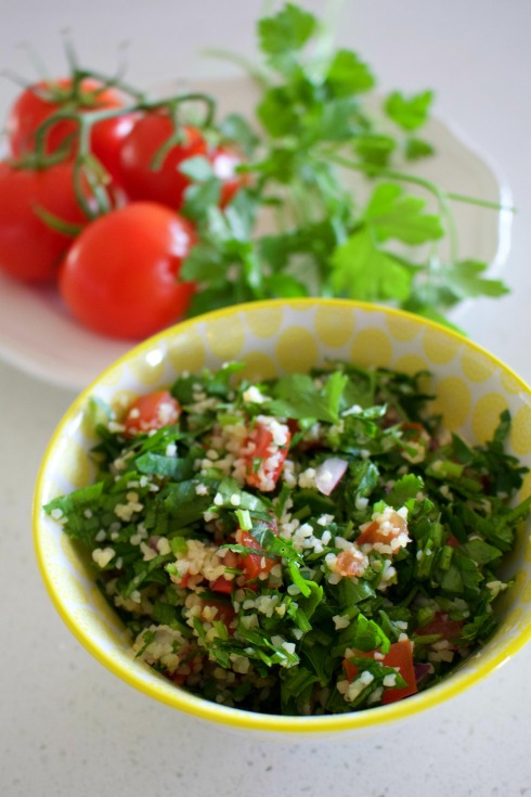 Perfect for a picnic - tabbouli salad. The Hungry Mum.jpg