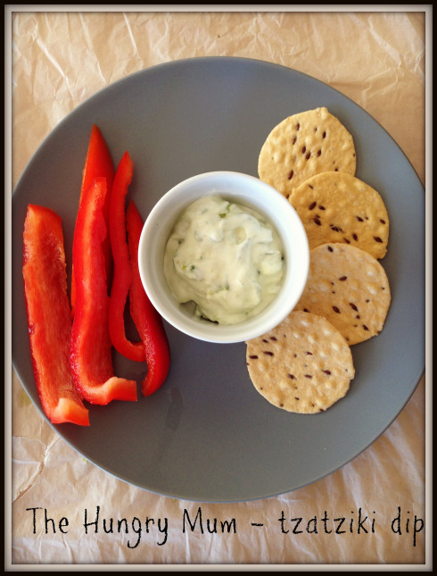 Tzatziki dip - The Hungry Mum