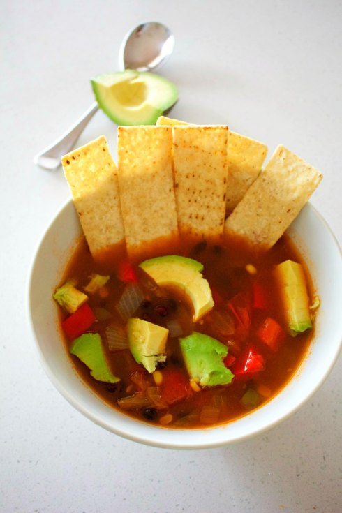vegan Mexican soup