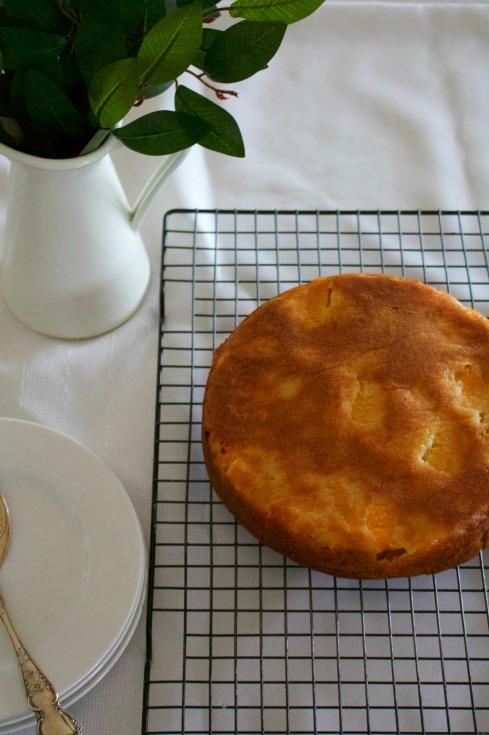 easy-caramel-peach-cake
