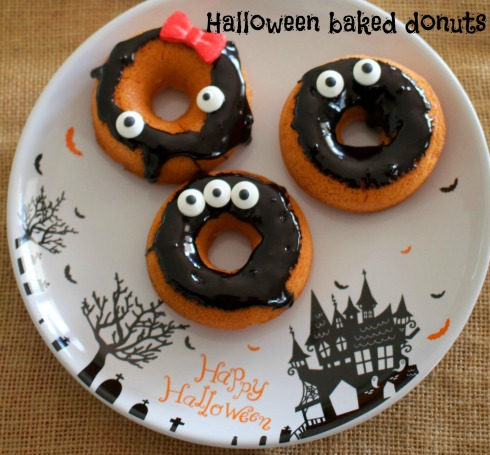 the-hungry-mum-baked-halloween-donut