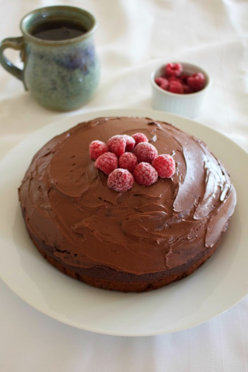 vegan-cinnamon-chocolate-cake