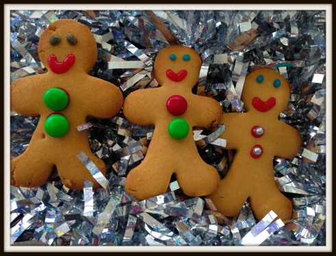 gingerbread men - The Hungry Mum