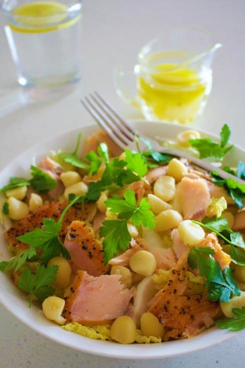salmon-macadamia-salad
