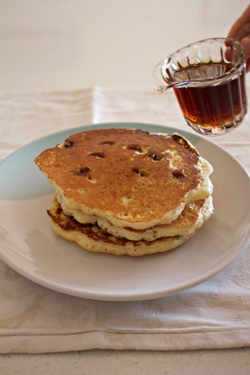 coconut-choc-chip-pancakes