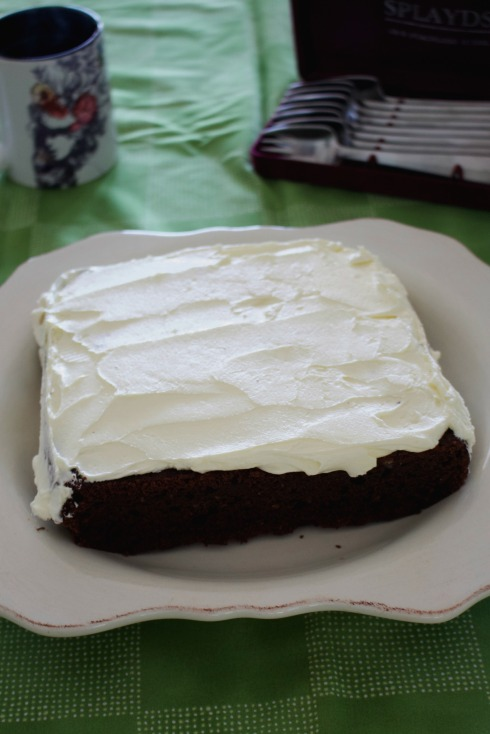 Chocolate Guiness cake