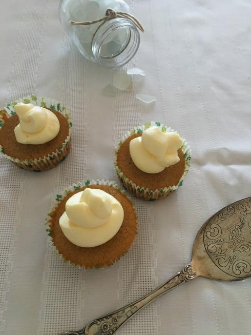 Irish coffee cupcakes for St Patricks Day